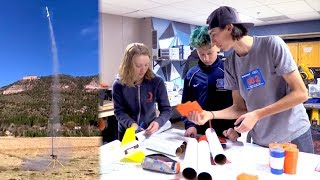 Animas High Rocketry Team Selected for National Competition