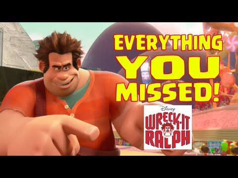 Disney's WRECK-IT RALPH Easter Eggs and Everything You Missed.