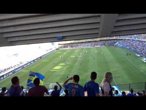 Boca Juniors 2-0 Tigre, Torneo Transición 2014. - La 12 - Boca Juniors