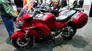 8. 2014 Kawasaki Concours 14 ABS Walkaround - 2014 Toronto Motorcyle Show