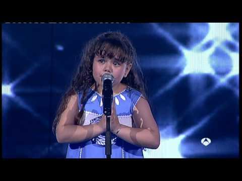 Quiero cantar niña 7años soprano