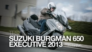 5. TEST | Suzuki Burgman 650 Executive 2013