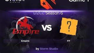 Empire vs Fantastic Five, game 1