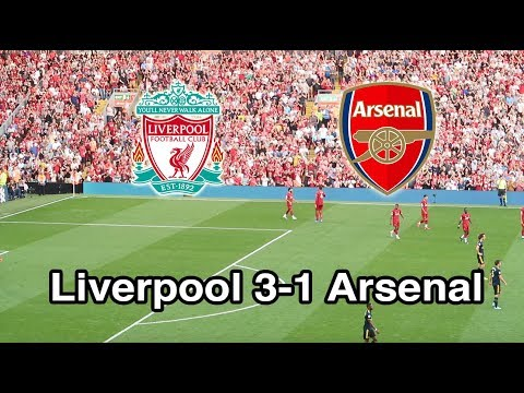 Arsenal Get The Anfield Treatment! Liverpool Vs Arsenal 3-1. Matchday Vlog,  GOALS: Mo Salah & Matip