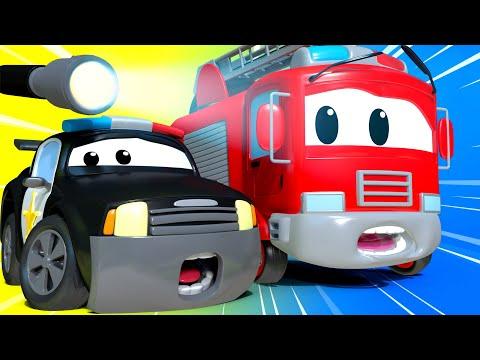 Video La Super Patrulla - La Casa de Diversión - Auto City | Dibujos animados de carros download in MP3, 3GP, MP4, WEBM, AVI, FLV January 2017