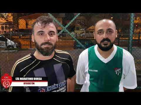 AKAR GİYİM BURSA - Ayyıldız Tim  Akar Giyim Bursa - Ayyıldız Tim / Maç Sonu Röportajı / Lig Maratonu Bursa