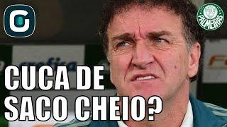 Flavio Prado revelou que Cuca estaria de saco cheio com a situação atual do Palmeiras e caso o time perca para o Vitoria ele pode pedir para sair do clube.Acompanhe também as nossas redes sociais:Facebook - https://www.facebook.com/gazetaesportivaTwitter - https://twitter.com/gazetaesportivaInstagram - https://www.instagram.com/gazetaesportiva