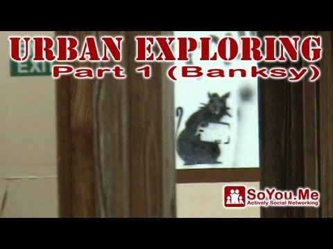 Urban Exploring Wareham Part 1 (Banksy)