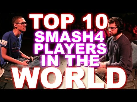 Top 10 Smash 4 Players In The World - ZeRo