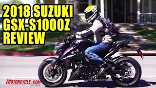 3. 2018 Suzuki GSX-S1000Z Long-Term Review