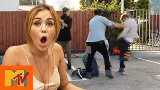 Justin Bieber Punks Miley Cyrus In Shock Twist | Punk'd