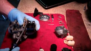 3. Carburetor Tear Down And Cleaning 2005 Honda Metropolitan (CHF50) Scooter