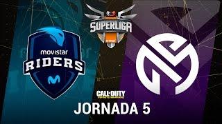 MOVISTAR RIDERS VS TEAM MRN - #SuperligaOrangeCOD5 - Jornada 5 - T12