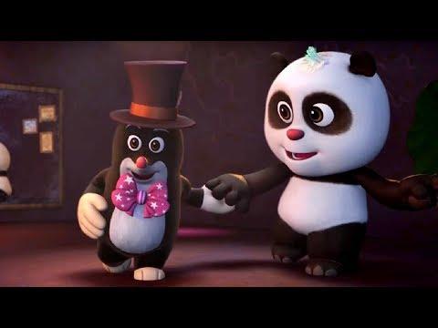 Кротик и Панда - все серии сразу - сборник 1-5 развивающий мультфильм для детей