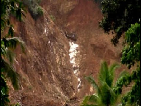Ada Derana visits landslide in Pahiyangala, Bulathsinhala