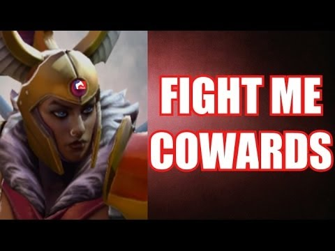 Legion Commander - FIGHT ME COWARDS | Dota 2 mlg