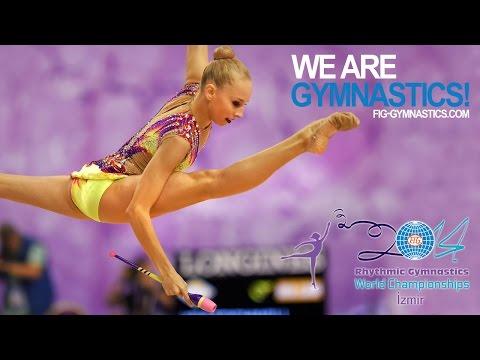Rhythmic - FIG Official – 33rd Rhythmic Gymnastics World Championships Izmir (TUR) September 22-28 2014. Yana Kudryavtseva (RUS), Qualifications Clubs : 18.633 (Difficu...