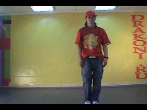Обучающее видео popping (поппинг): связка 2