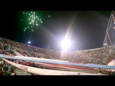 Recibimiento Huracán Libertadores, primer partido después del accidente - La Banda de la Quema - Huracán
