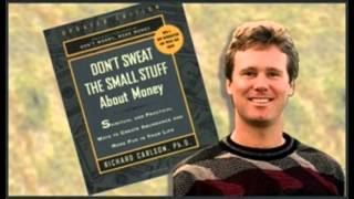 DON'T SWEAT THE SMALL STUFF   Richard Carlson Famous  Audiobook