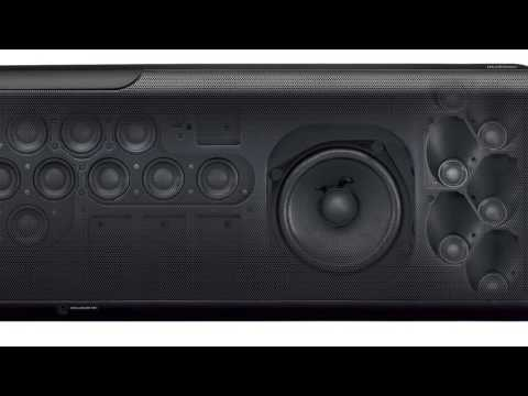 Yamaha Black Digital Sound Bar YSP-5600 - Overview