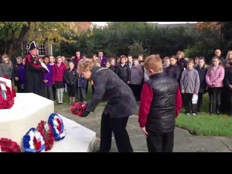Remembrance Service at Newark Parish Church