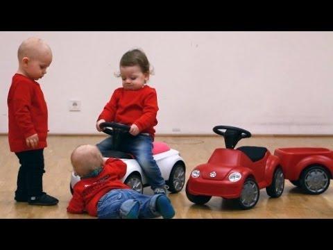 Bobby-Car-Test im Video: Diesem Trio rutscht nichts durch