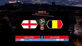 Belgium vs England | 3rd Plcae | FIFA World Cup Russia 2018 Gameplay