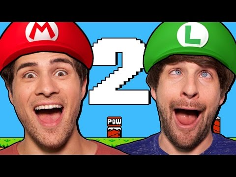 WE'RE IN SUPER MARIO BROS 2!