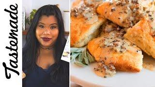 Chrissy Teigen's Biscuits n Gravy l The Tastemakers-Jen Phanomrat by Tastemade