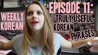 Episode 11: Truly Useful Korean Phrases