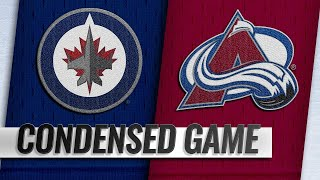 02/20/19 Condensed Game: Jets @ Avalanche by NHL