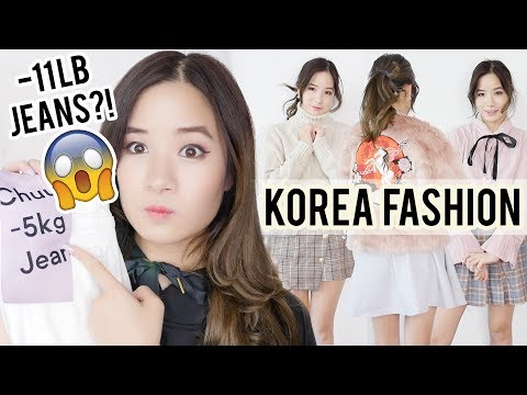 HUGE Korean Fashion Haul | What I bought in KOREA?? Gangnam & YesStyle