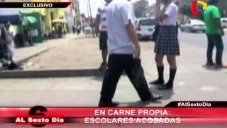 El acoso sexual no tiene límites: Las escolares son víctimas en las calles