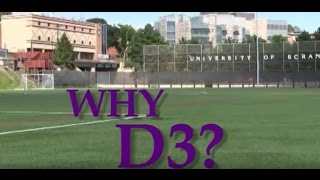 Why D3 at the University of Scranton?