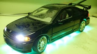 Nonton Edgar's Custom 1:18 The Fast and the Furious 1995 Honda Civic diecast model w/ working lights Film Subtitle Indonesia Streaming Movie Download