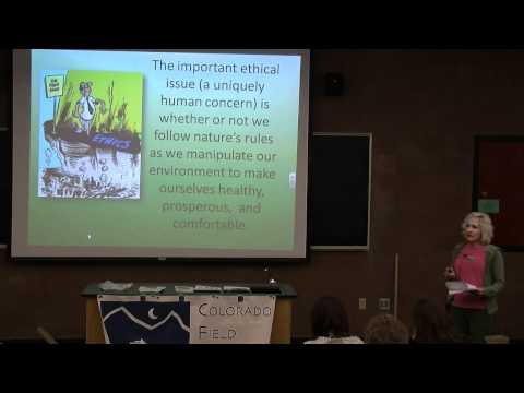 Besonderer Gastvortrag: Grün denken - Dr. Karel Rogers