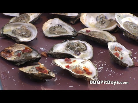 Grill - If ya like eating Oysters, they are good eating any way you serve them up. But the next time Oysters are on the menu at your Pit be sure to check out this bu...