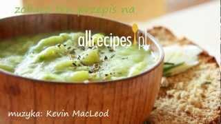 Szybka zupa porowa z ziemniakami