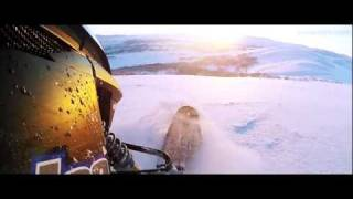 3. Beautiful riding with Arctic Cat ProClimb M1100 Turbo and Ski-doo Summit snowmobile