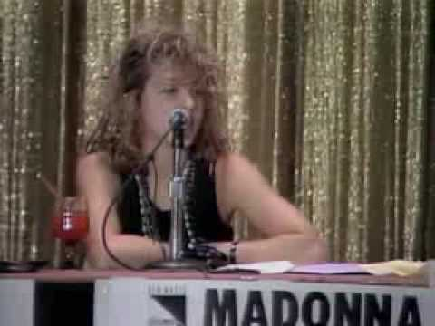 Madonna at New Music Seminar 1984