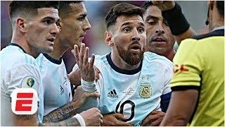 Argentina's Lionel Messi shown red: 'Referee should've gone to VAR' - Steve Nicol | Copa America