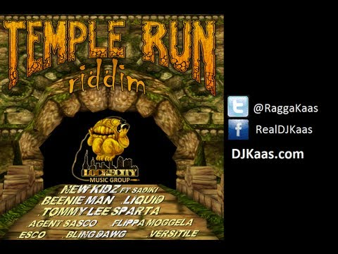 Temple Run Riddim Mix [Dancehall - June 2013] | DJ Kaas