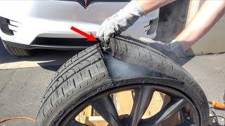 Video What's inside a Tesla Tire? MP3, 3GP, MP4, WEBM, AVI, FLV Agustus 2018