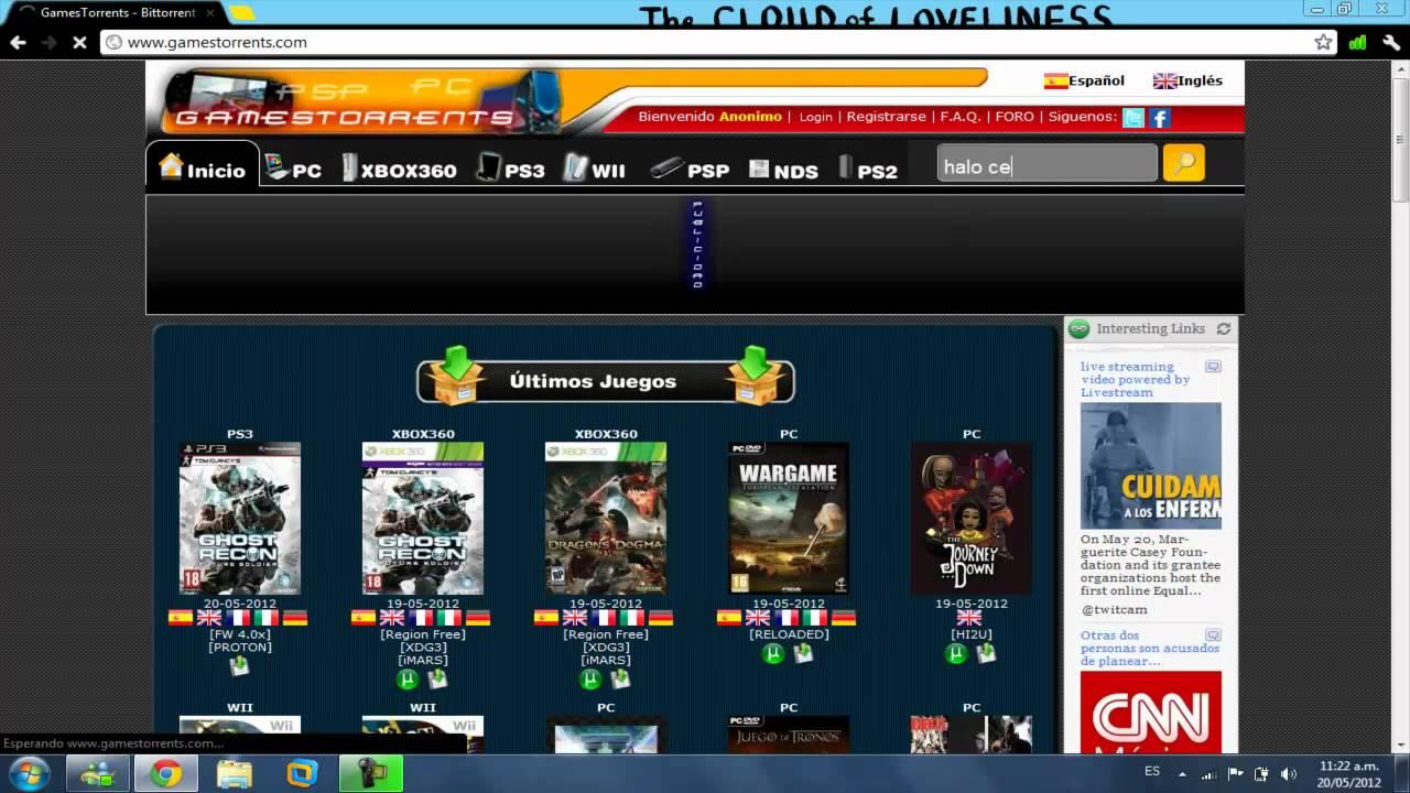 Como Descargar Juegos Gratis para Wii, PC, XBOX 360, PSP, NDS, PS2 y 3