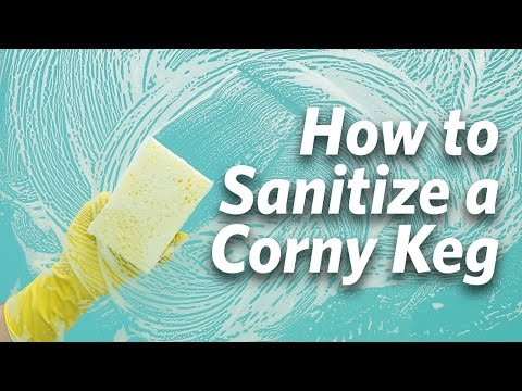 How To Sanitize A Corny Keg – Craft Brewing™