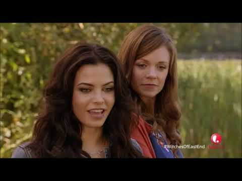 Witches of East End 1x03 || Wendy teaches the girls how to use their powers