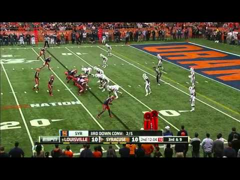 Ryan Nassib vs Louisville 2012 video.