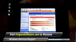 Do not leave Windows Antivirus Rampart on your computer.