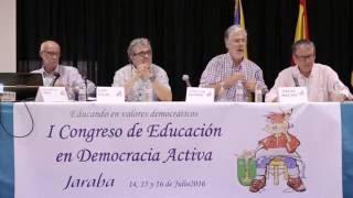 Conferencia Vilas, Argudo y Sáez con la intervención de Carmen Gascón